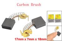 "60 Pcs DC Electric Motor 43/64"" x 3/11"" x 7/10"" Carbon Brushes"