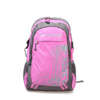 2013 school bag multi-color print backpack canvas laptop bag