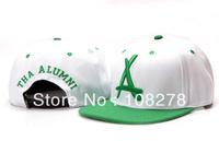 Free shipping fashion Tha alumni flat-brimmed hat bboy hip-hop cap snapback baseball cap