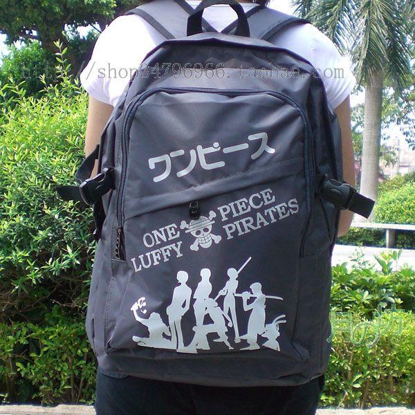 Backpack luffy pattern(China (Mainland))