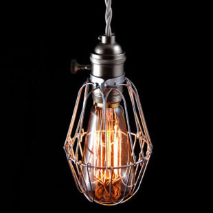 Luxury Vintage Antique Meters vintage iron lamp cover american style pendant light  Europe Style