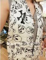 2013 Korean version of the hand-painted graffiti Funny bulb skull Kito chiffon scarves