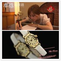Gentlewomen all-match elegant strap watch