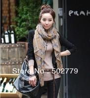 Wholesale 2013 Korean winter voile shawl small zebra long scarves scarf shawl