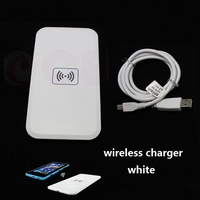 Portable Slim Qi Wireless Charging Pad Wireless Charger for Samsung Galaxy S4 i9500 S3 i9300 Note2 N7100  Nexus4 Nokia 920, WH