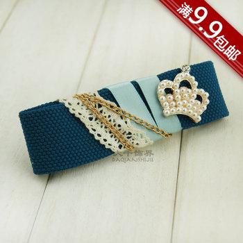 Great hair accessory handmade bow hair accessory hairpin hair clip hair maker accessories hair accessory d257