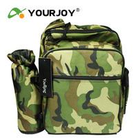 Double-shoulder yourjoy outdoor picnic bag 22 insulation package belt tableware