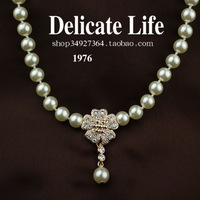 Ol ladies pearl the bride necklace female wedding dress accessories jewelry necklace g4204
