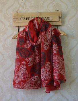 2013 Autumn new style,Free shipping,cashew nuts printing,flower print,bohemian style,long viscose hijab,women stoles,head wrap