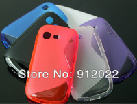 Wholesale 6x S-Line RUBBER GEL TPU SOFT SKIN COVER CASE FOR Samsung Galaxy Pocket Neo S5310