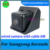 """Highest quality for Ssangyong Korando parking camera Wired 1090K night vision CCD 1/3"""" 170 degree car camera"""