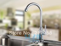 Factory direct sale! Vegetables basin kitchen faucet copper sink faucet wholesale factory new single cold water tap