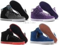 Justin Bieber Men's Fashion Vaider High Shoes Hip-Hop High Top Skateboarding Shoes Size 41-47 Free Shipping