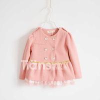 Children's clothing female child 100% k cotton shirt outerwear 100% cotton gauze