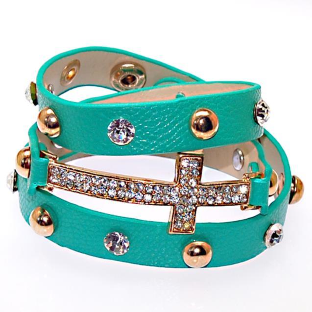 Браслеты из бисера Браслет из бисера Shamballa jewelry, new color, New wrap Shamballa Bracelets Micro Pave CZ Disco...