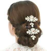 Free Shipping!Handmade hair accessories/bridal hair wear/ wedding Hair ornament ,SW131