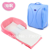 Free shipping Bed portable folding baby bed baby travel bed breathable disassembly bb bed