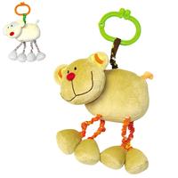 Toy animal rattles, bear infant toys handbell bell