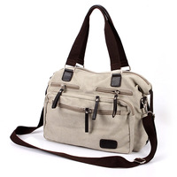 2012 autumn and winter large size canvas one shoulder cross-body portable multi-purpose travel bag casual bag man bag female
