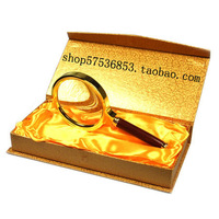 Advanced mahogany handle magnifier 70 7 mahogany