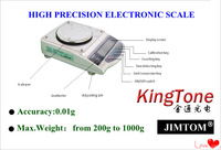 High Precision Electronic weighing Scale , LCD display electronic balance accuracy 0.01g