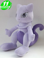 "Pokemon Center Mewtwo Stuffed plush toy 11""NEW"