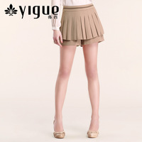 8.13 YIGUE autumn women's all-match sweet pleated skirt pants shorts 24225a5009