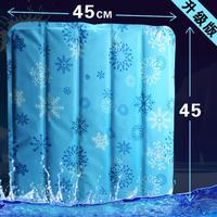 Single-seat car seat cushion summer ice pad multifunction cooling pad free shipping