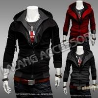 Mens' New Coats Outwear Hoodies Hat Jacket  men clothes cardigan style Jacket Casual Coat Plus Size XXL CX652743