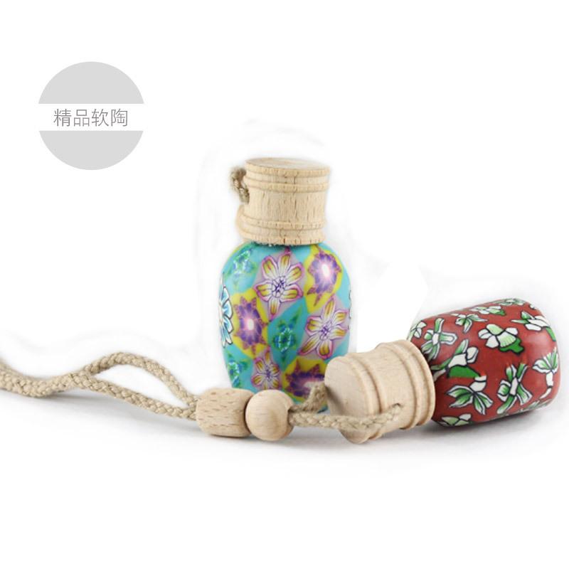 Car perfume hanging perfume bottle car products jushi pendant(China (Mainland))