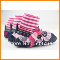 2013 new high quality autumn and winter high girls shoes toddler baby keep warm shoes free shipping