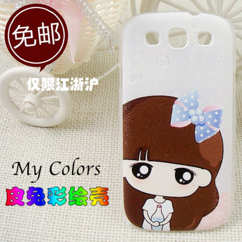 For samsung   i9300 phone case mobile phone case i9308 s3 protective case shell