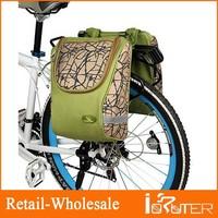 New Outdoor Sport Double Cycling Bag Bike Big Rear Seat Trunk Bag Pannier Camping Bag Travel Basket