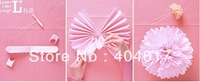 free shipping(10pieces/lot)DIY paper flower for wedding decoration