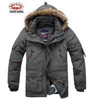 warm men jacket coat jacket free shipping goose down coat sports jacket windproof camping  2013