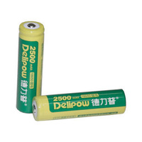 Flashlight lithium battery charge 18650 battery 3.7v2500 8