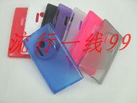 Express Ship Multi Colors 100pcs/lot newest Tpu gel case s line for Nokia  Lumia 1020 EOS  RM-875 909 Tpu gel case s line design