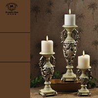 Fashion classical mousse wedding props rustic decoration crafts home decoration piece set