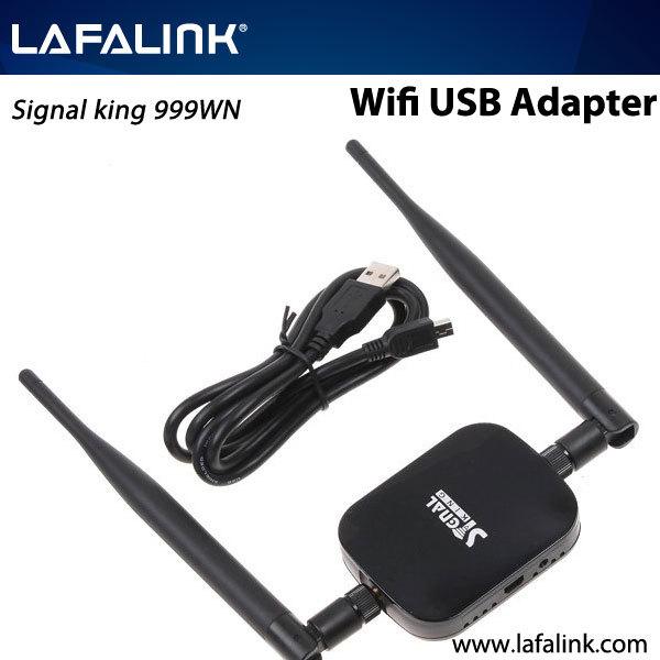 High Power Signal King 2000mW 48DBI USB Wireless Adaptor SignalKing 999WN usb wireless adapter with ralink rt3070 chipset(China (Mainland))