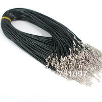Korea leather cord Diy accessories cord rope Necklace Adjustable size Free shipping