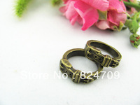 DHL Free Shipping Vintage Pendant,Antique Bronze, Ring Charms Pendant , Alloy Ring unadjustable Fashion
