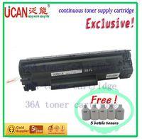 36A toner cartridge compatible for LBP-3250 ,12000 page,no waste powder produce,transparent refillable cartridge for h-p