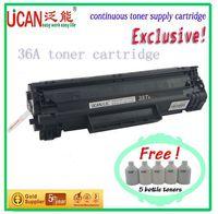 36A toner cartridge compatible for CanonCRG-713 drum unit ,(12000 pages),no waste powder produce,roland cartridge