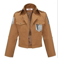 New   Anime Attack on Titan Scouting Legion Allen Yeager Cosplay Jacket Halloween Costume