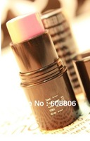 Free shipping Aqua cream blush rouge lipstick pink naturally dual