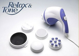 Bling Recommend Free Shipping Professional Body Massager Relax Spin Tone