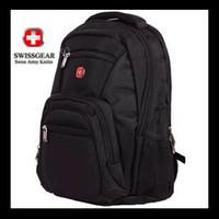 2014 Fashion Men Laptop Backpack Swiss Gear army knife bag double-shoulder School bag business casual backpack hiking travel bag