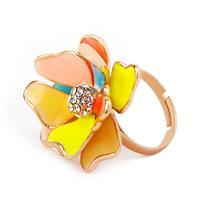 Kaila multicolour ring female finger ring opening