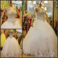 2013 bandage tube top wedding dress princess big train wedding dress xj067