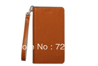 Free shipping 100% Genuine Flip Leather Case for Umi X2 ,ultra-thin real leather case mobile phone case